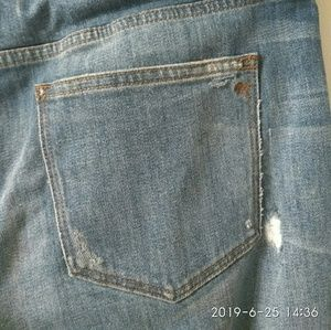 Madewell Slim Boyjean Distressed Blue Jean Size 29